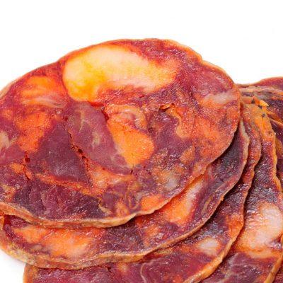 Generosa Ración de Chorizo Ibérico de Bellota por 5,35€ en el Museo del Jamón Parque Oeste Alcorcón