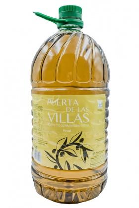 Aceite de Oliva Virgen Extra de Jaén Puerta Villas 5 Litros. Supermercado Museo del Jamón Alcorcón