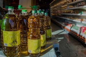 Aceite de Oliva Virgen extra barato. Supermercado Museo del Jamón del Alcorcón