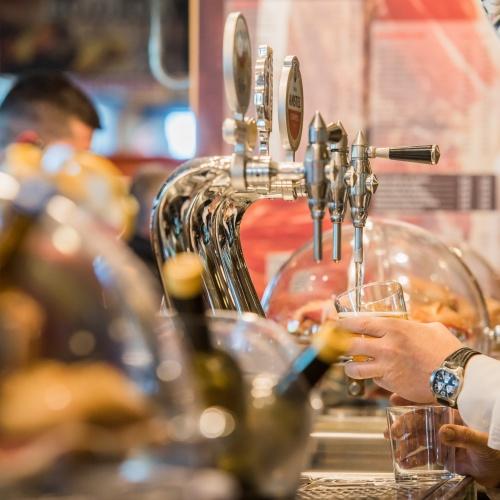Cerveza de Bodega Museo del Jamón de Alcorcón