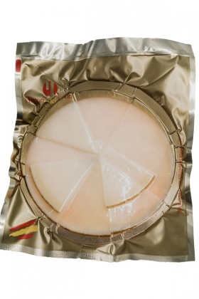 Sobre Loncheado Queso Curado Historia del Jamón. Supermercado Museo del Jamón de Alcorcón