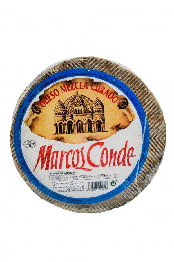 Queso Curado Oveja Marcos Conde Supermercado Museo del Jamón de Alcorcón