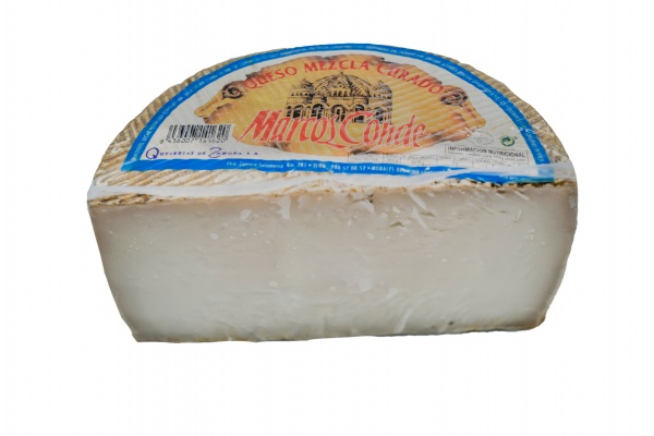 Medio Queso curado Oveja Marcos Conde Supermercado Museo del Jamón de Alcorcón