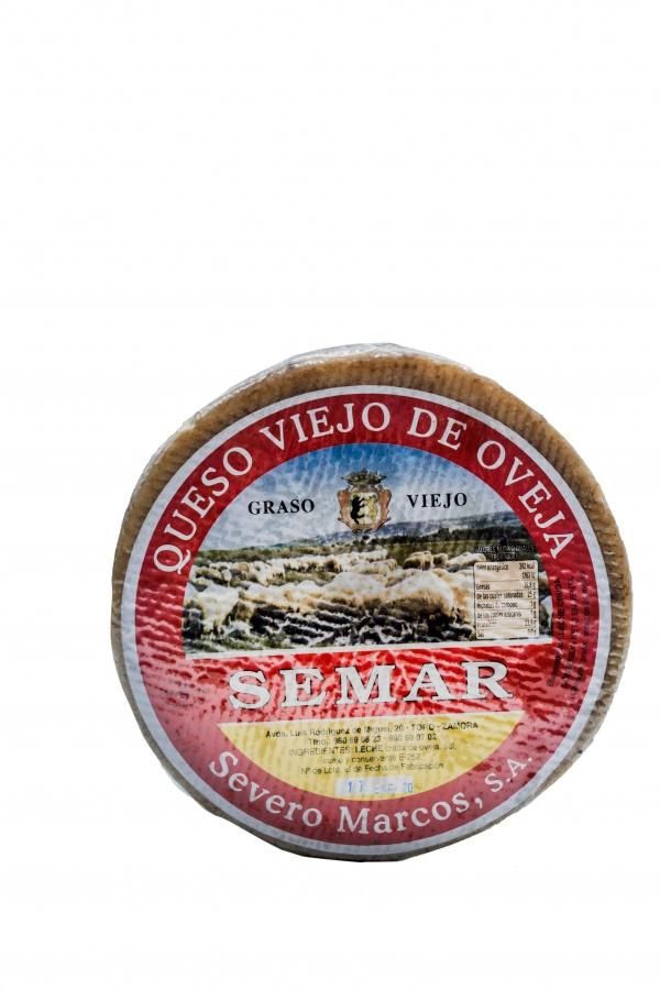 Queso Viejo de Oveja Severo Marcos Supermercado Museo del Jamón de Alcorcón