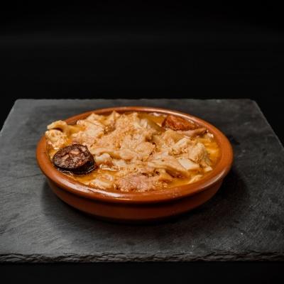 Ración Callos a la madrileña. Museo del Jamón de Alcorcón