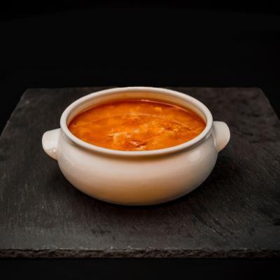 Ración Sopa Castellana. Museo del Jamón de Alcorcón
