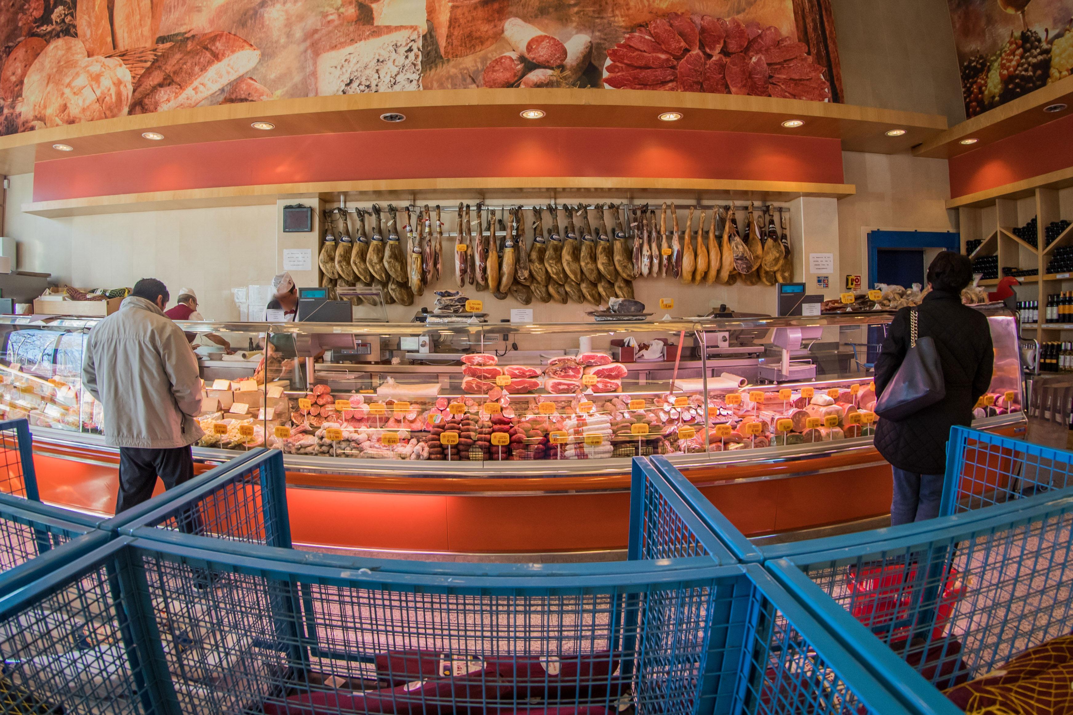 Supermercado Museo del Jamón Parque Oeste Alcorcón. Jamones, Embutidos, Quesos, Aceite de Oliva, Vinos al mejor precio de Alcorcón