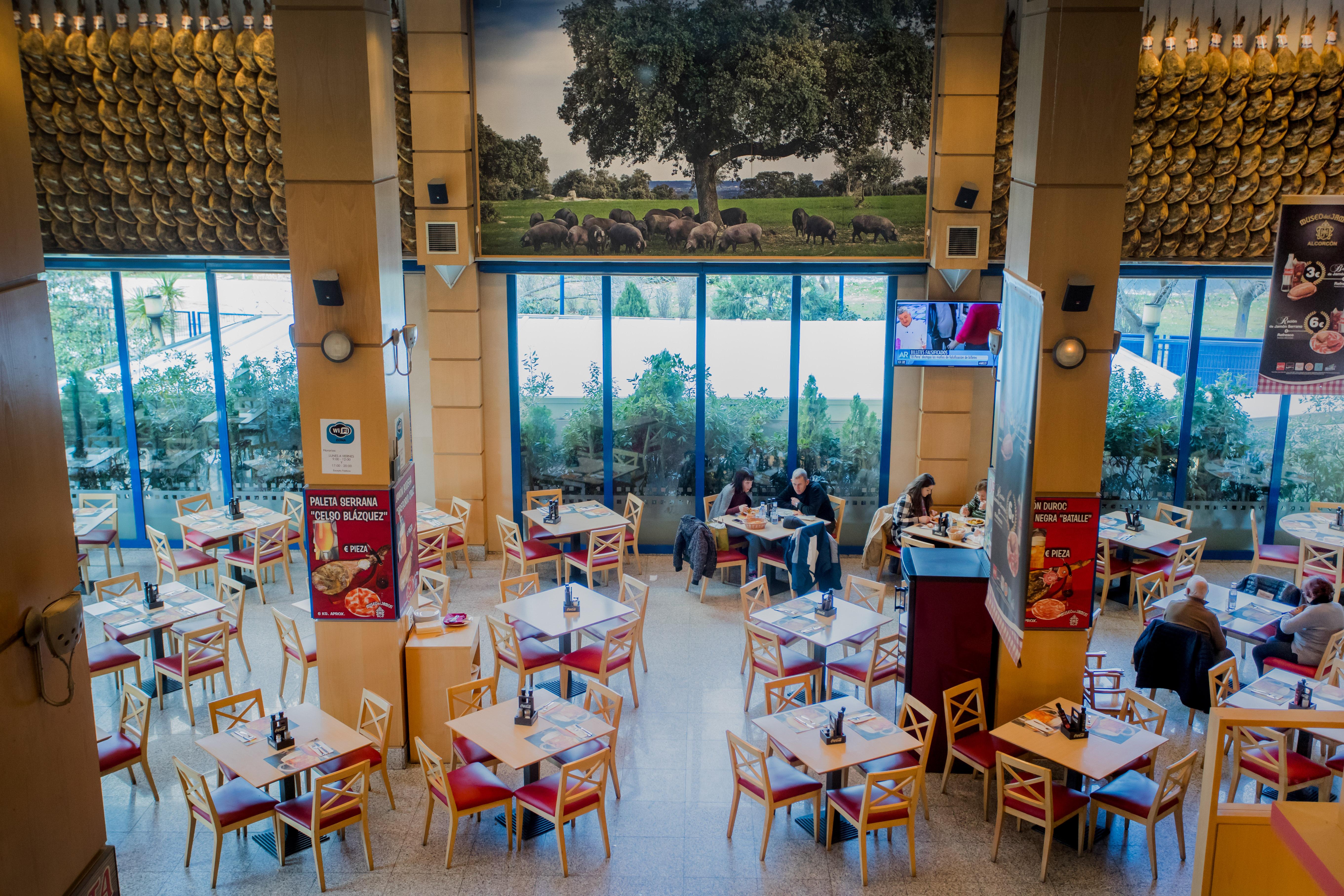 Restaurante Museo del Jamón Parque Oeste Alcorcón. Comer, Cenar barato en Alcorcón